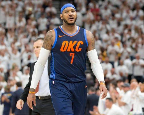 Nba Playoffs Oklahoma City Thunder At Utah Jazz