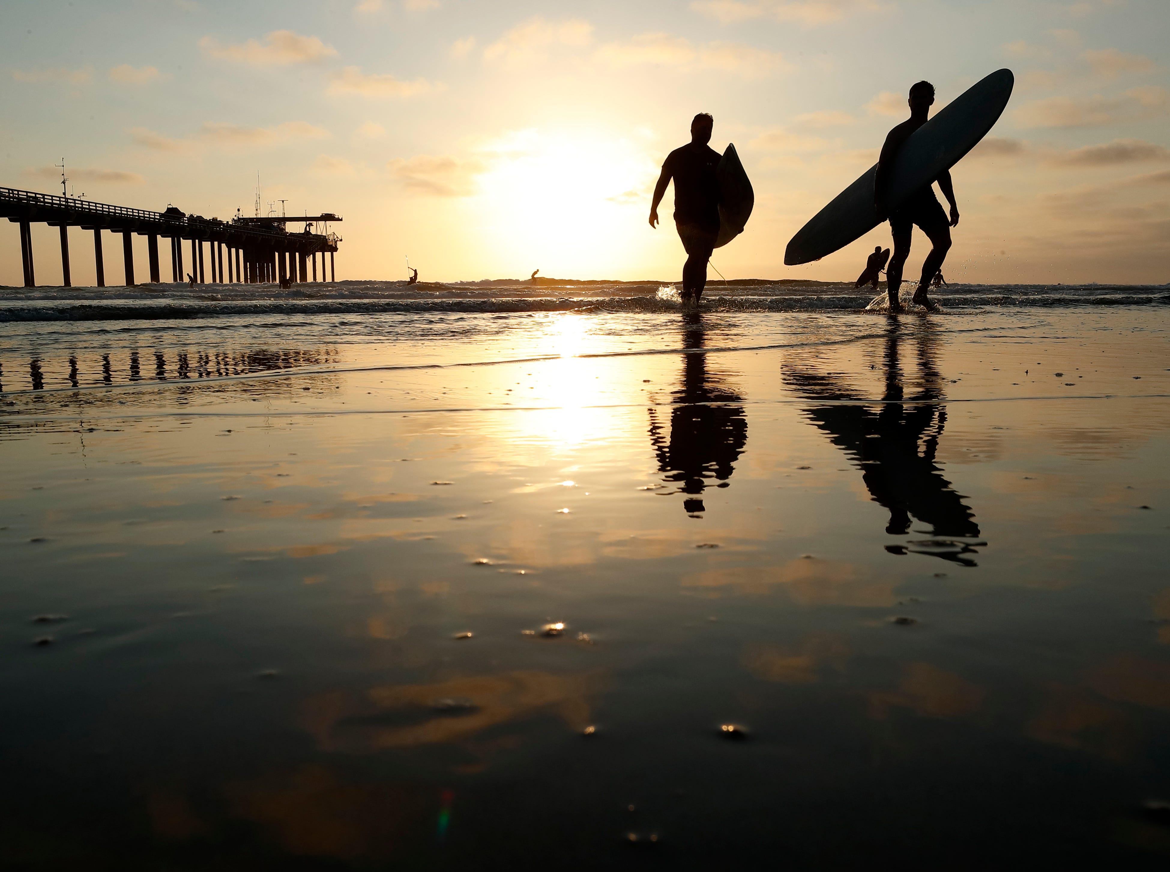 Ap Aptopix California Heat Ocean Temperature A Wea Usa Ca