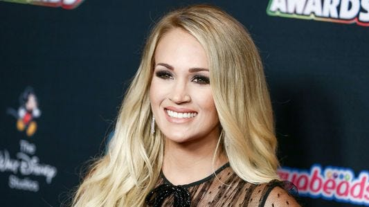 Carrie Underwood 'got mad' after suffering three miscarriages in two years