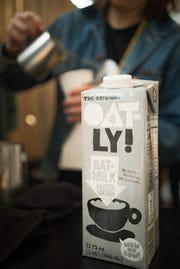 Oatly brand oat milk is available in more than 2,200 coffee shops nationwide and led a coffee trend.