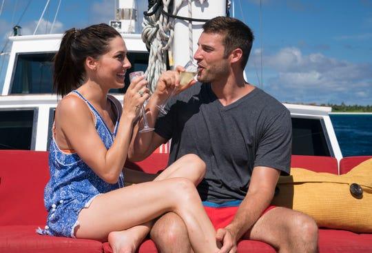 Becca Kufrin with Garrett Yrigoyen