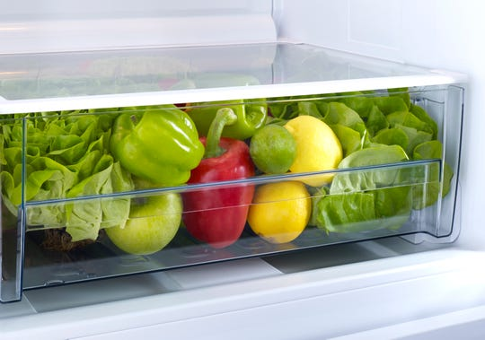 Store produce in your refrigerator draw to help preserve freshness.