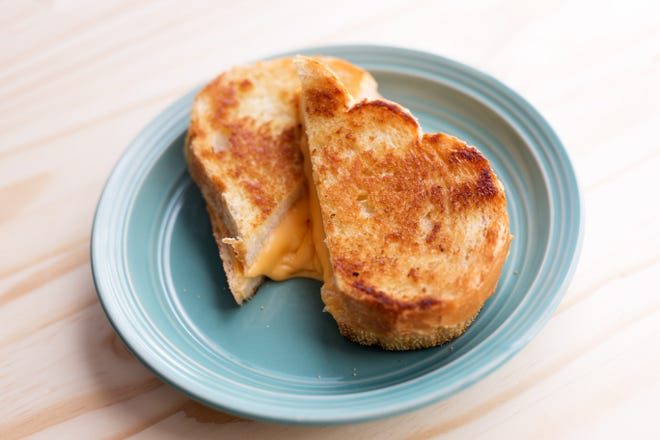 A grilled cheese sandwich might be just the food your college kid needs to cheer her up.