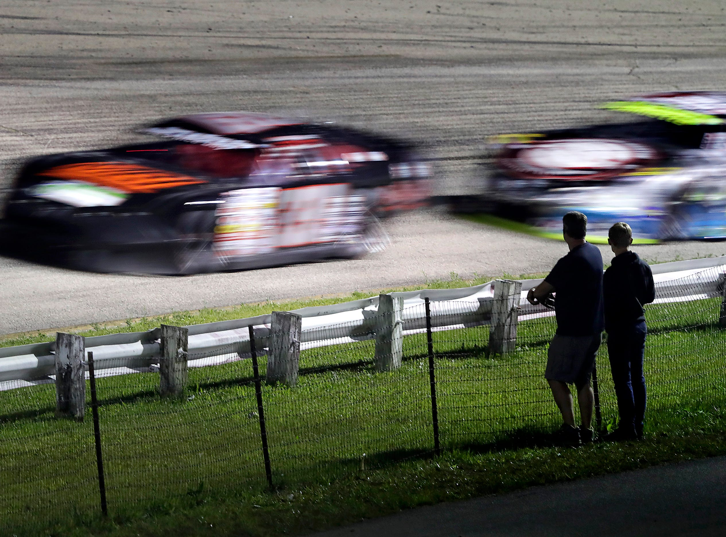 The ARCA Dixieland 250 on Tuesday, August 7, 2018, at Wisconsin International Raceway in Kaukauna, Wis. 