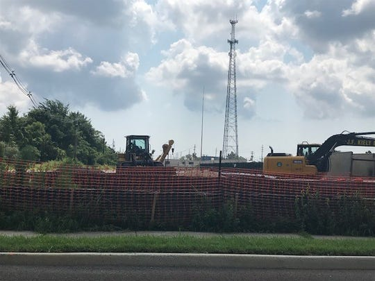 Ongoing clean-up work at former coal gasification site in Toms River