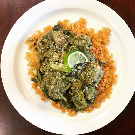 Pork ribs with herbs and green salsa at Casa del Sol in Toms River.