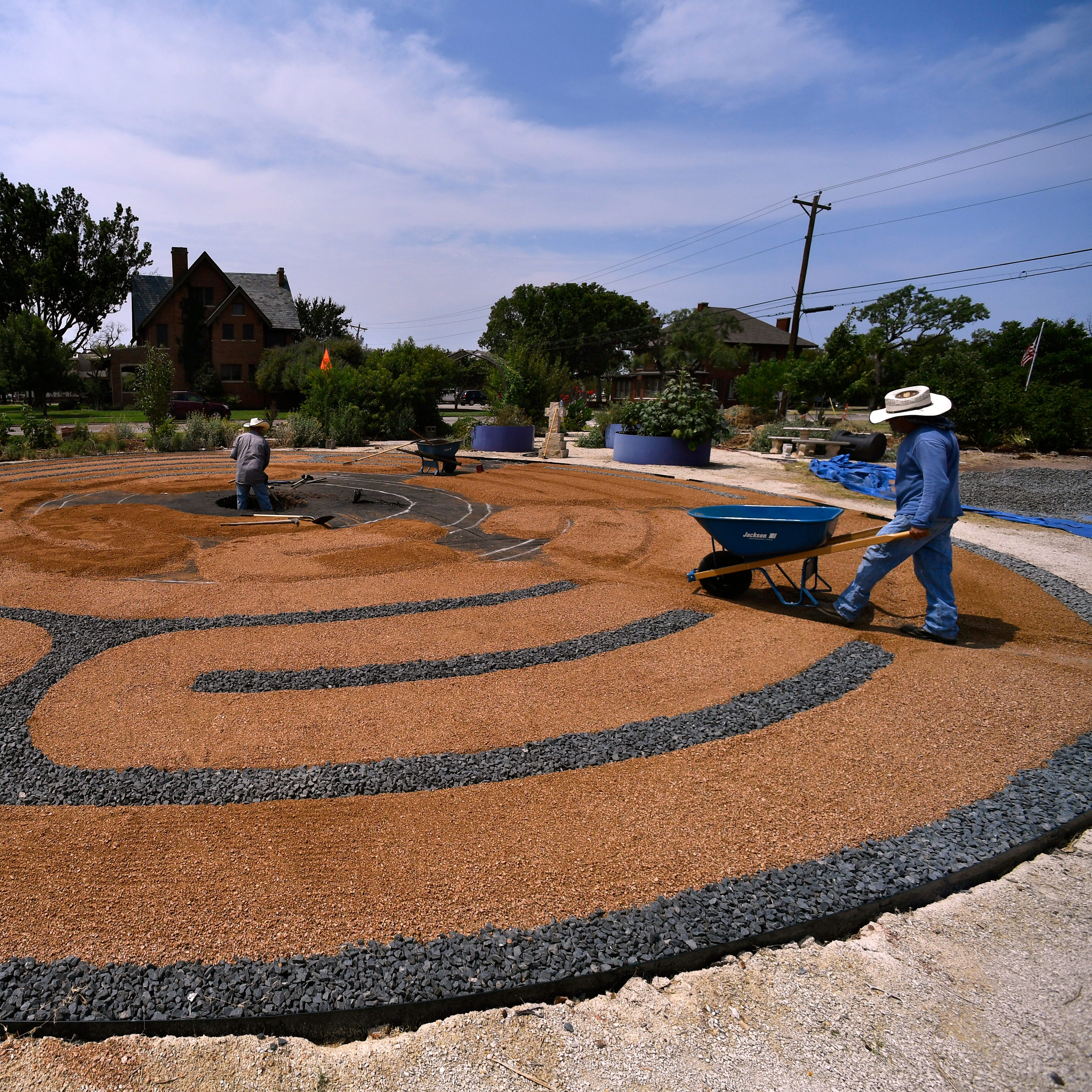Fountain from Lueders to be centerpiece at First Central's labyrinth in Abilene