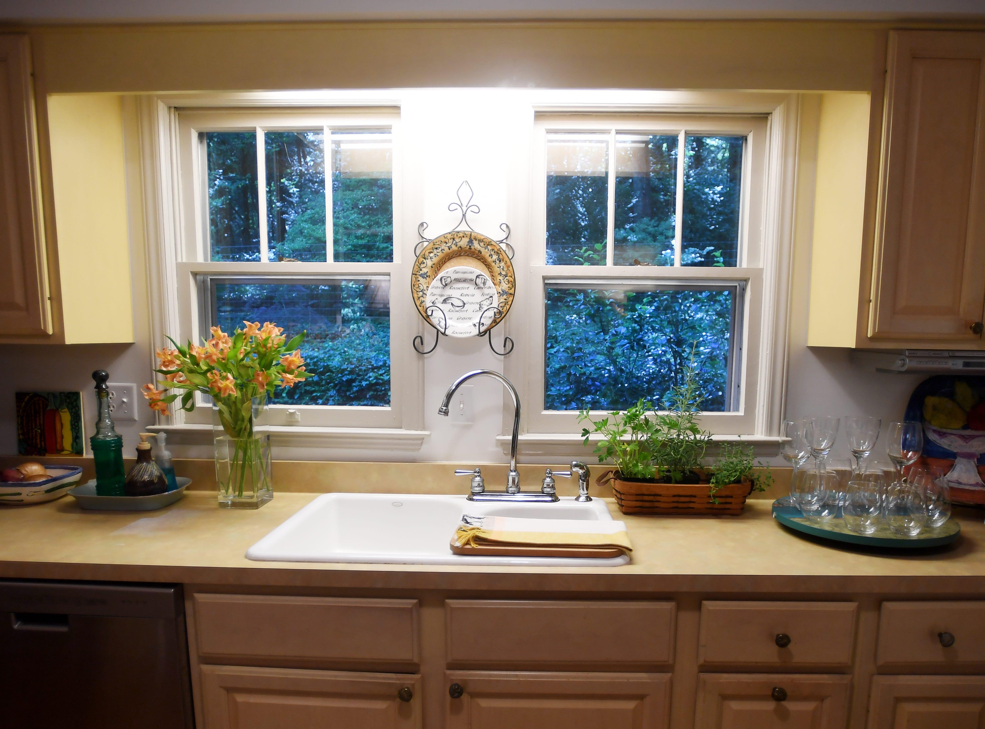 Rhonda Corley's kitchen in Saluda.
