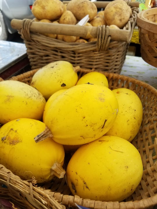 Spaghetti squash may be more plentiful from local farmers this year.
