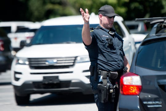 The Asheville Police Department Crisis Negotiation Team engaged in a three-hour standoff with a man wanted in connection to several area robberies Wednesday.
