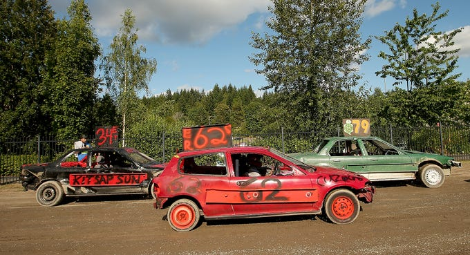Kitsap Destruction Derby Is A Smashing Good Time For