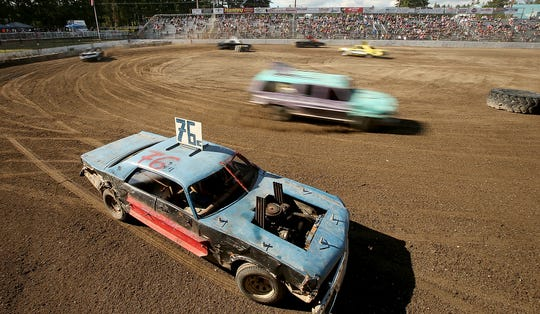 Kitsap Destruction Derby Association races are a popular attraction each spring and summer at Thunderbird Arena at the Kitsap County Fairgrounds.