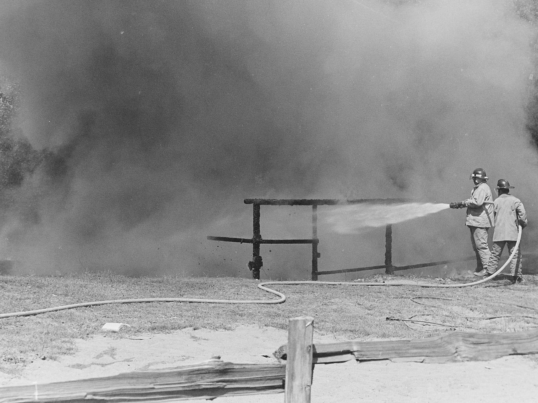 07/26/82Barn Fire