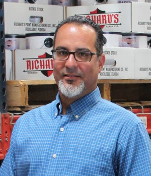 Aaron Dhawan is the new new director of operations at Richard's Paints.