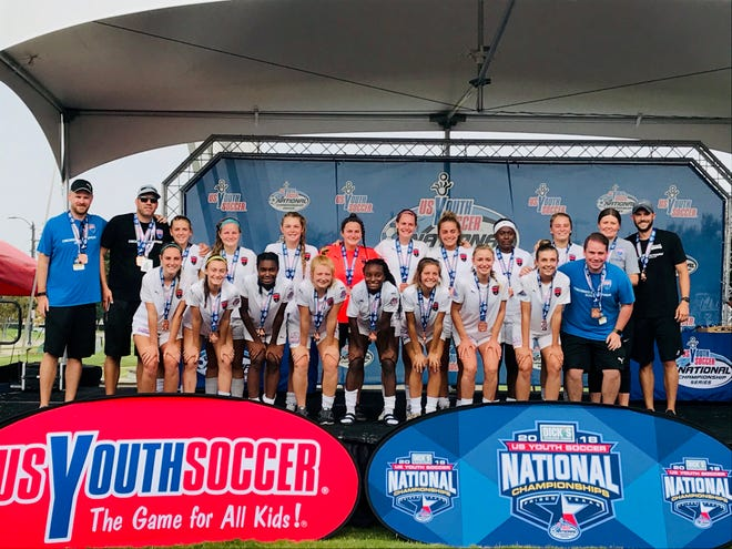 18U CDA Premier 00 finished third at the U.S. Youth Soccer Championships in Frisco,Texas.