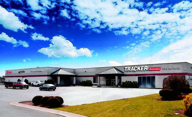 Tracker Boats will open a regional boat sales and service center in the former Moe's Outdoor Equipment and Supplies store on Yankee Road in Liberty Township.