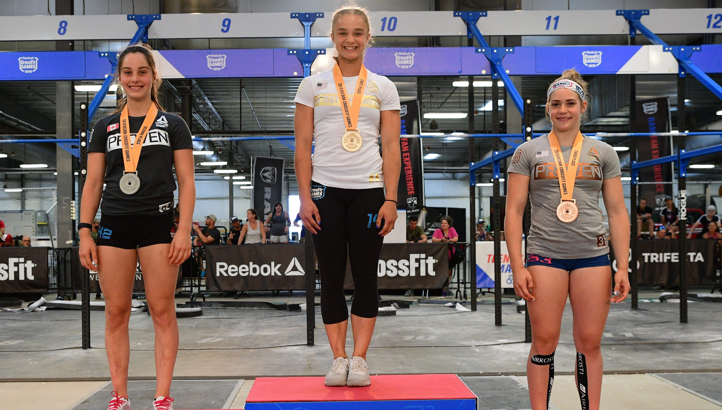507b5f8e Mason's Olivia Sulek, youngest champ ever, wins 2018 CrossFit Games in  14-15 girls division