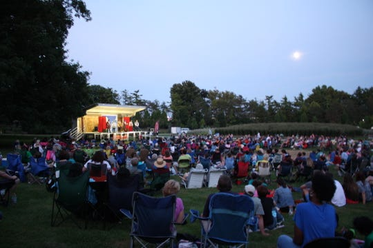 At other times, setting for Shakespeare in the Park can be downright rural, as it was for this 2014 performance at Glenwood Gardens in Woodlawn.