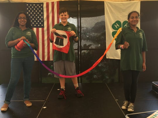 The Magicians Guild performs every day at the fair in the Prep Tent at 2 p.m. and in the Arts and Science tent at 3 p.m.