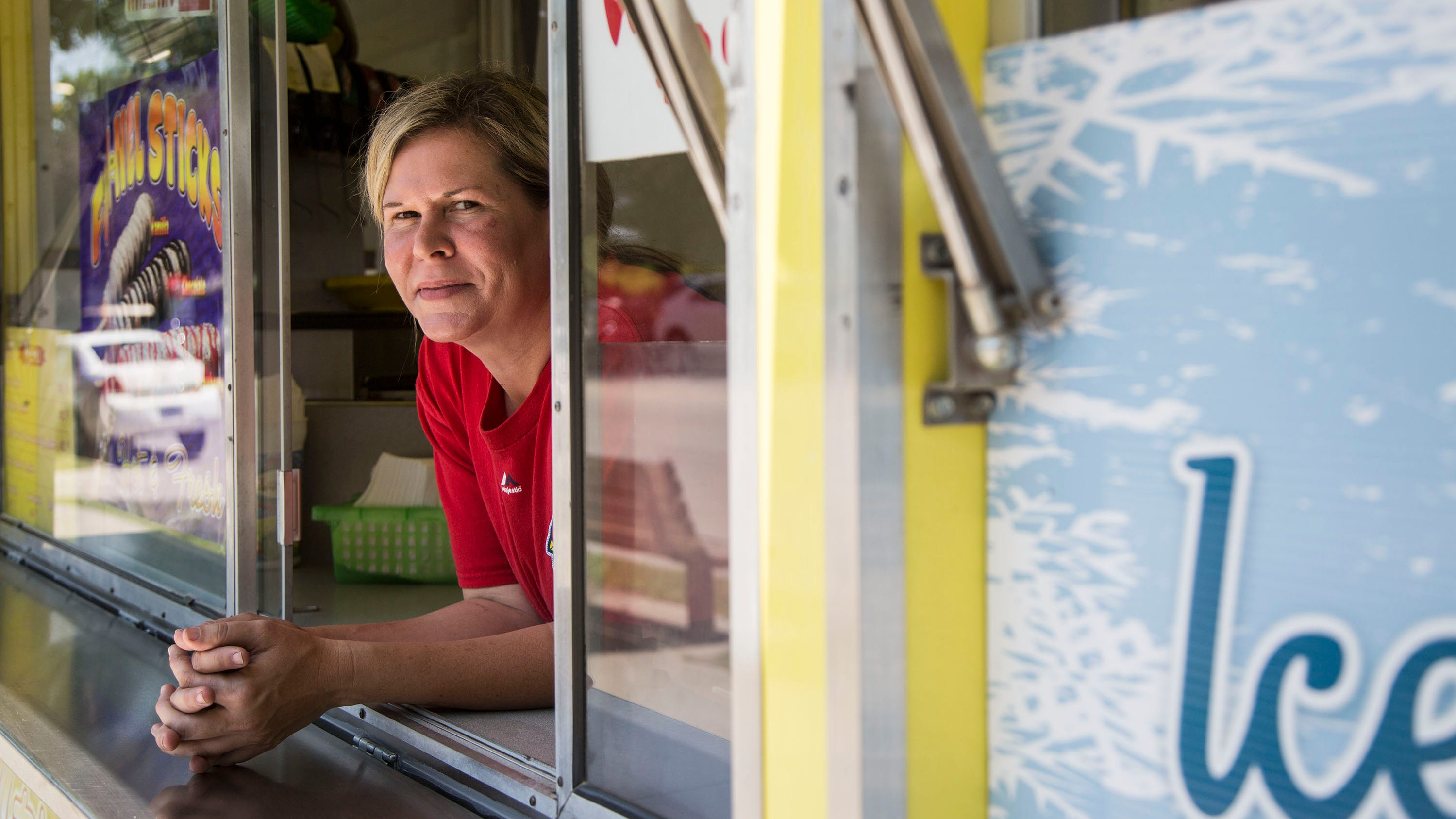 Murder at the State Fair: Victims' daughter returns to the fairgrounds to re-open a funnel cake stand 22 years after their deaths