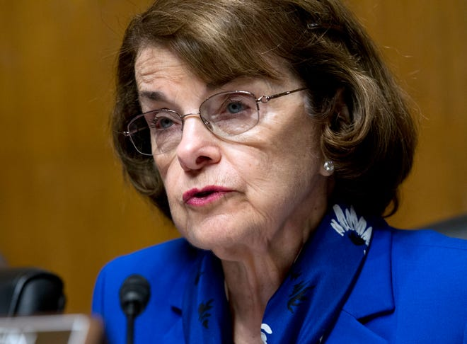 Sen. Dianne Feinstein, D-Calif., compared President Trump's policies with those of Nazi Germany.