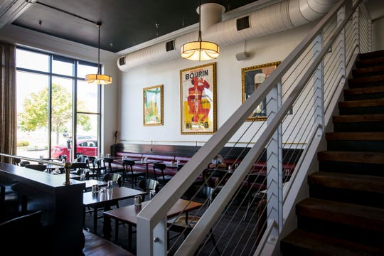 New location for Django at 1420 Locust Street Wednesday, Aug. 8, 2018, Des Moines, Iowa. Django closed in the Hotel Fort Des Moines in February and will reopen in a new space at 14th and Locust.