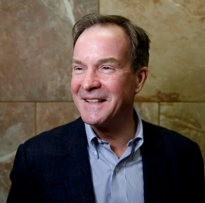 Bill Schuette,  Republican candidate for governor in November 2018.