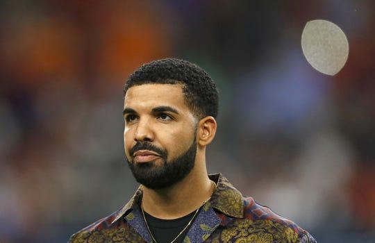 Rapper Drake in 2017.