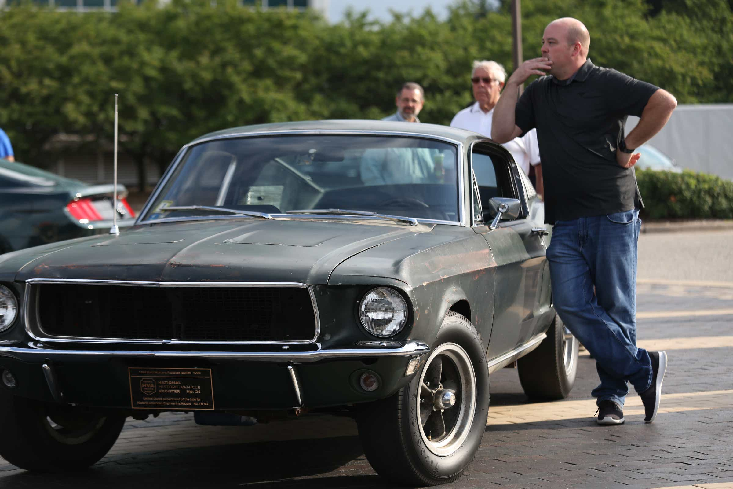 Steve Mcqueen Bullitt Mustang Sells For Record At Auction After Years In Jersey Garage