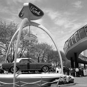 The Ford Mustang caused a sensation when it debuted at the 1964 World's Fair in New York.