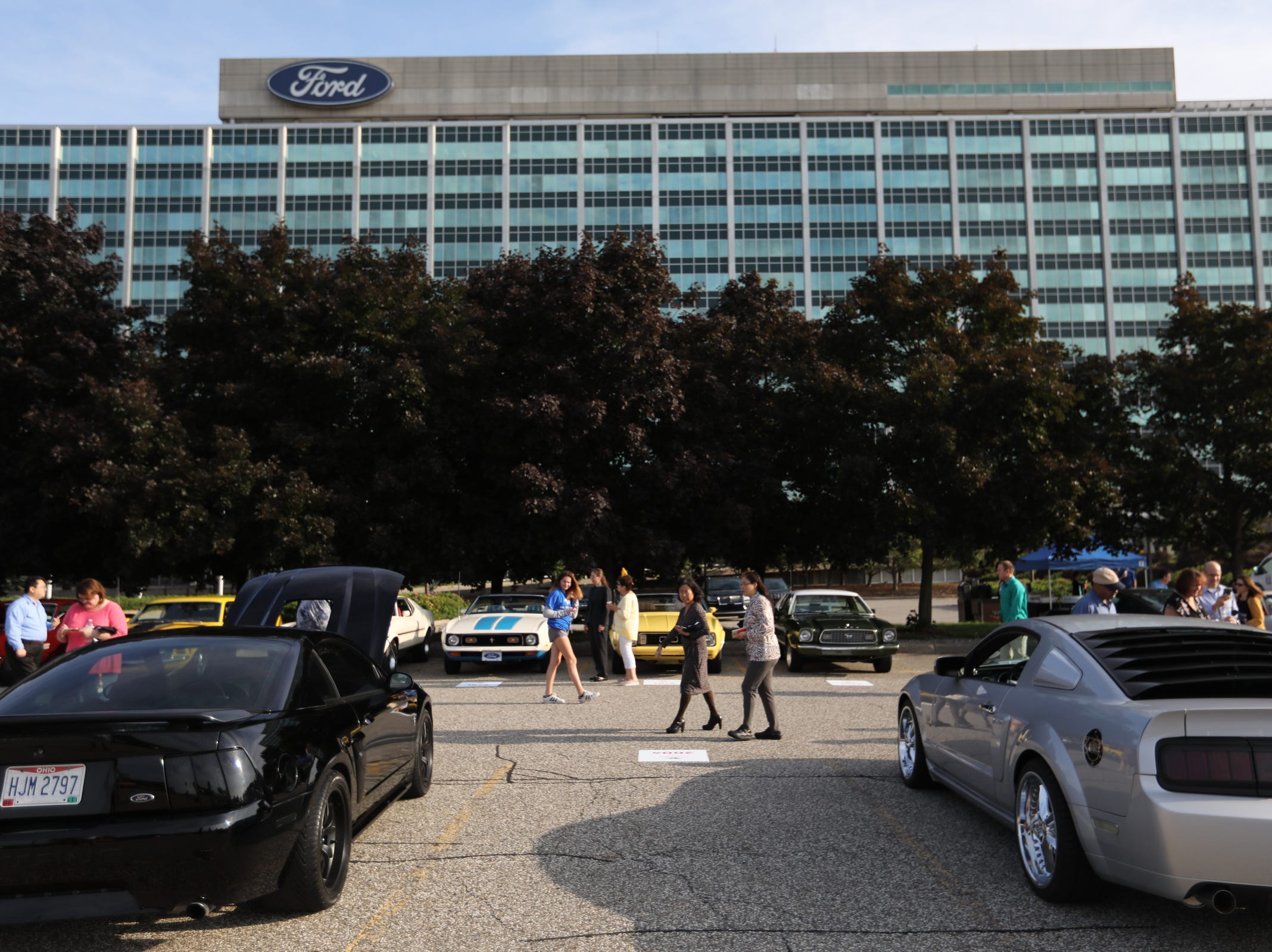 Ford Motor Company held an event celebrating the 10,000,000 Mustang built at the Ford Motor Company World Headquarters in Dearborn on Wed., Aug 8, 2018.