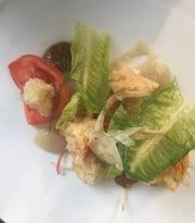 Panzanella salad served at Prime + Proper
