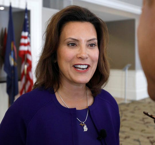 Gretchen Whitmer, Democratic candidate for governor in November 2018.