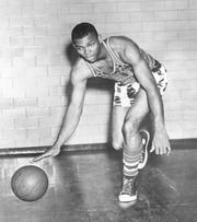 Johnny Kline played for the Globetrotters from 1953-59, before falling on hard times.