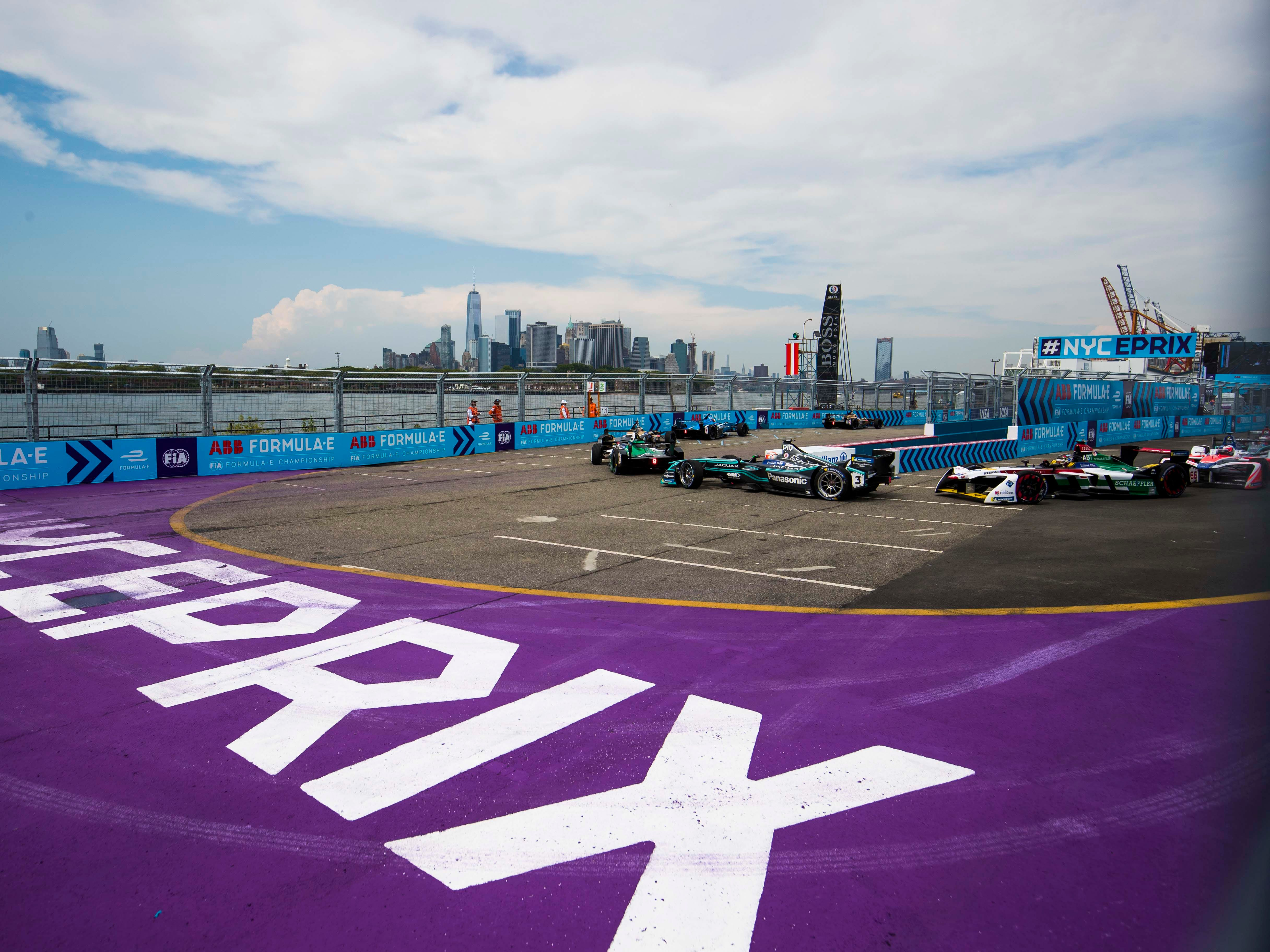 Formula E races in some of the world's biggest cities, including New York, Hong Kong, Paris and Mexico City.