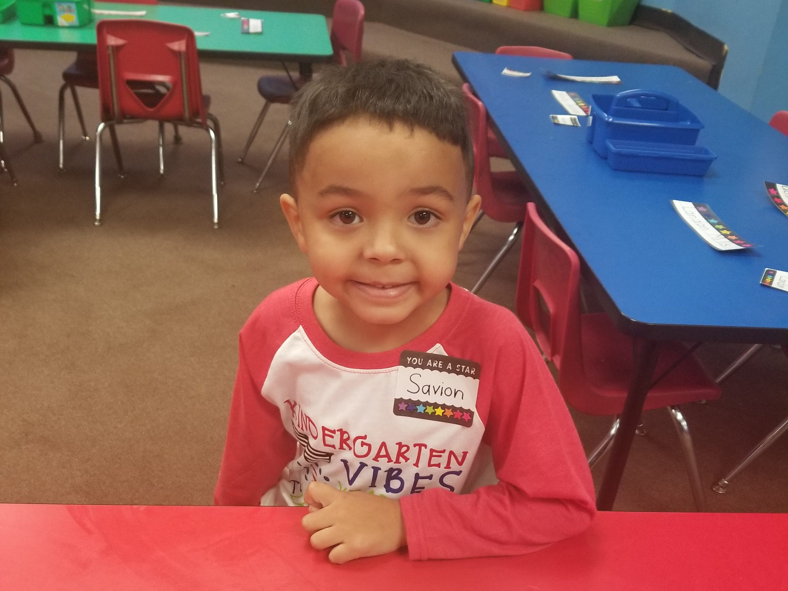 Savion Fields - Kindergarten