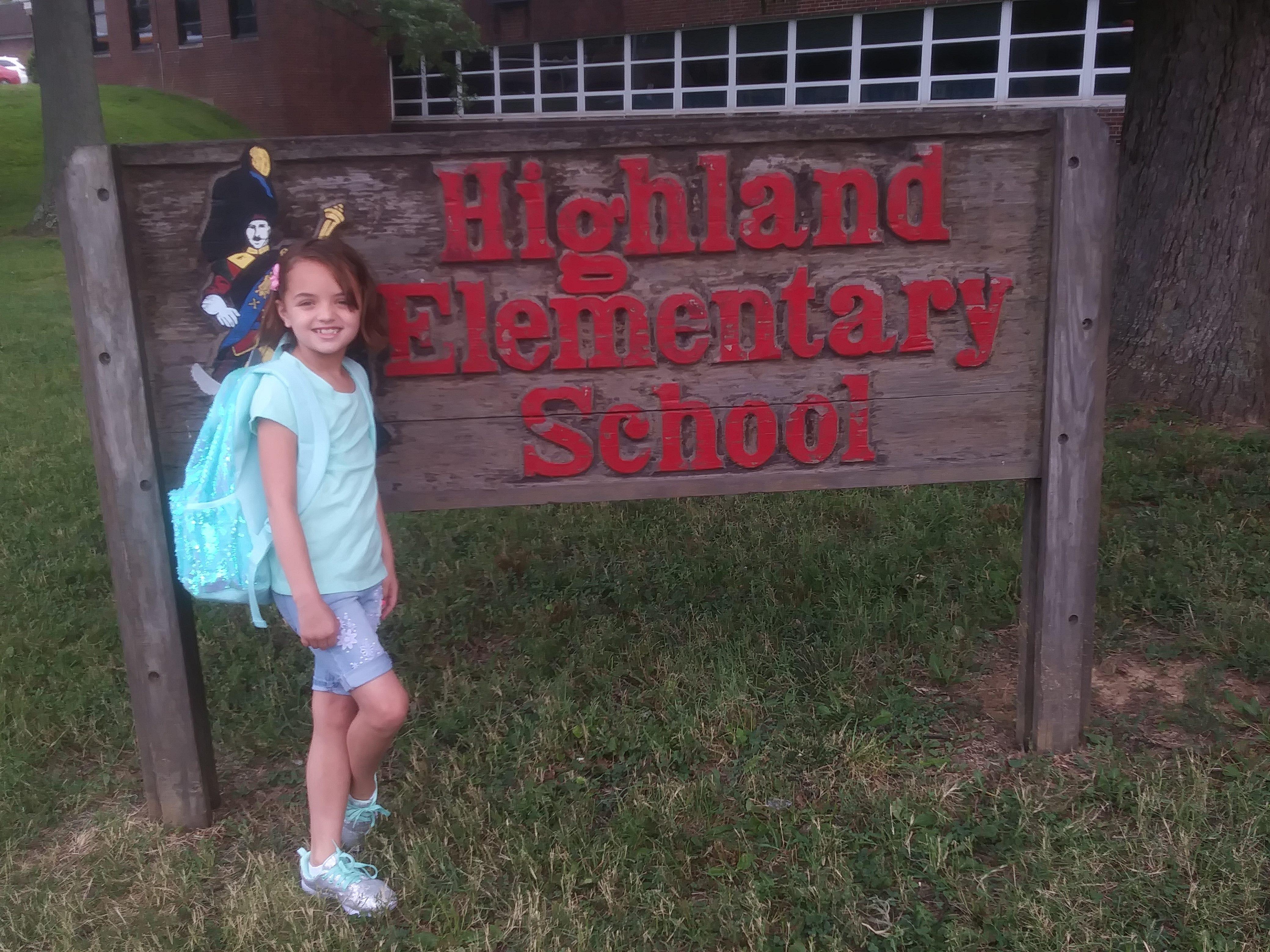 Audrina Alvey 2nd grade