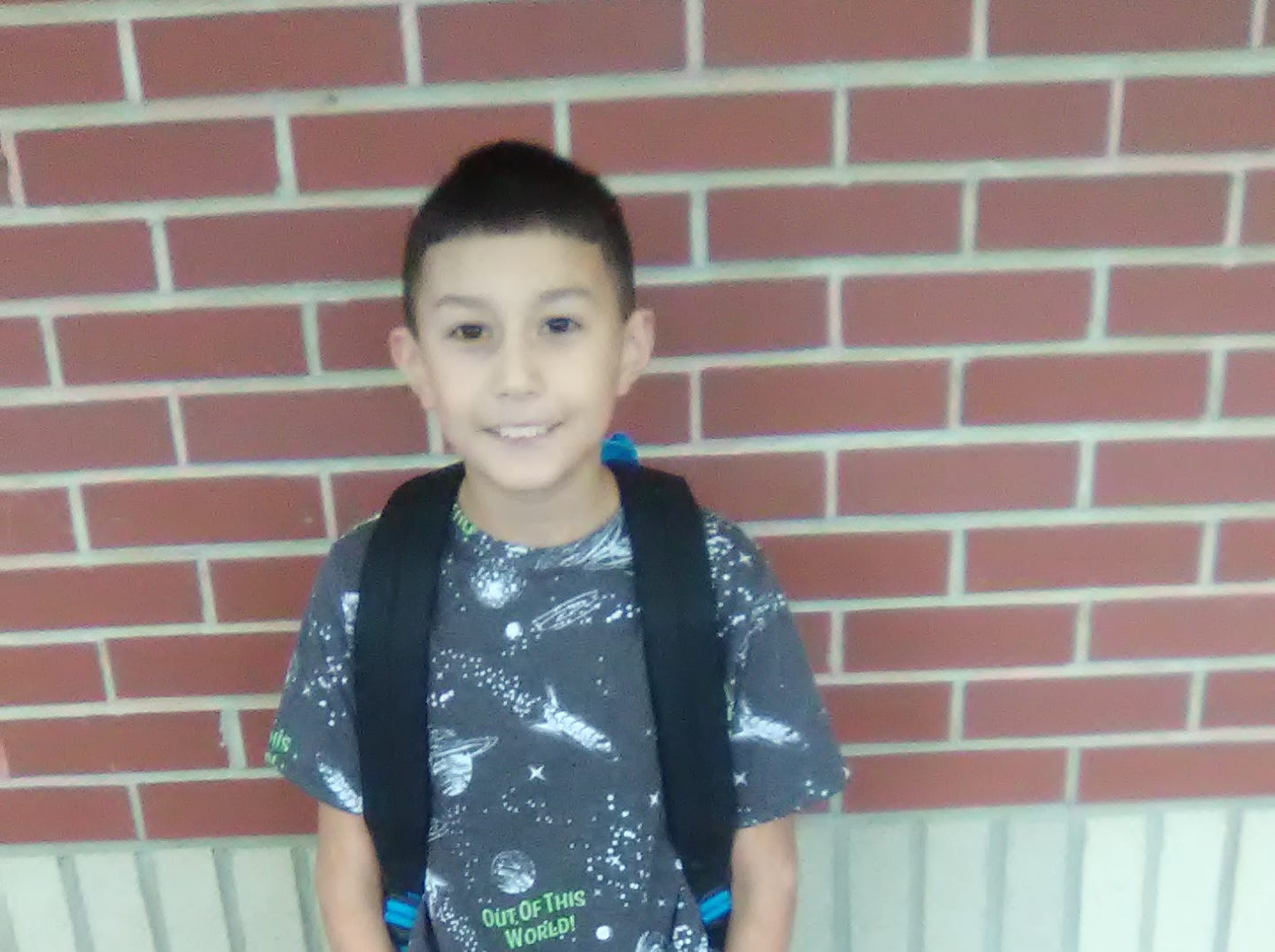 Madden Velázquez fourth grade & Braylen Rickard kindergarten