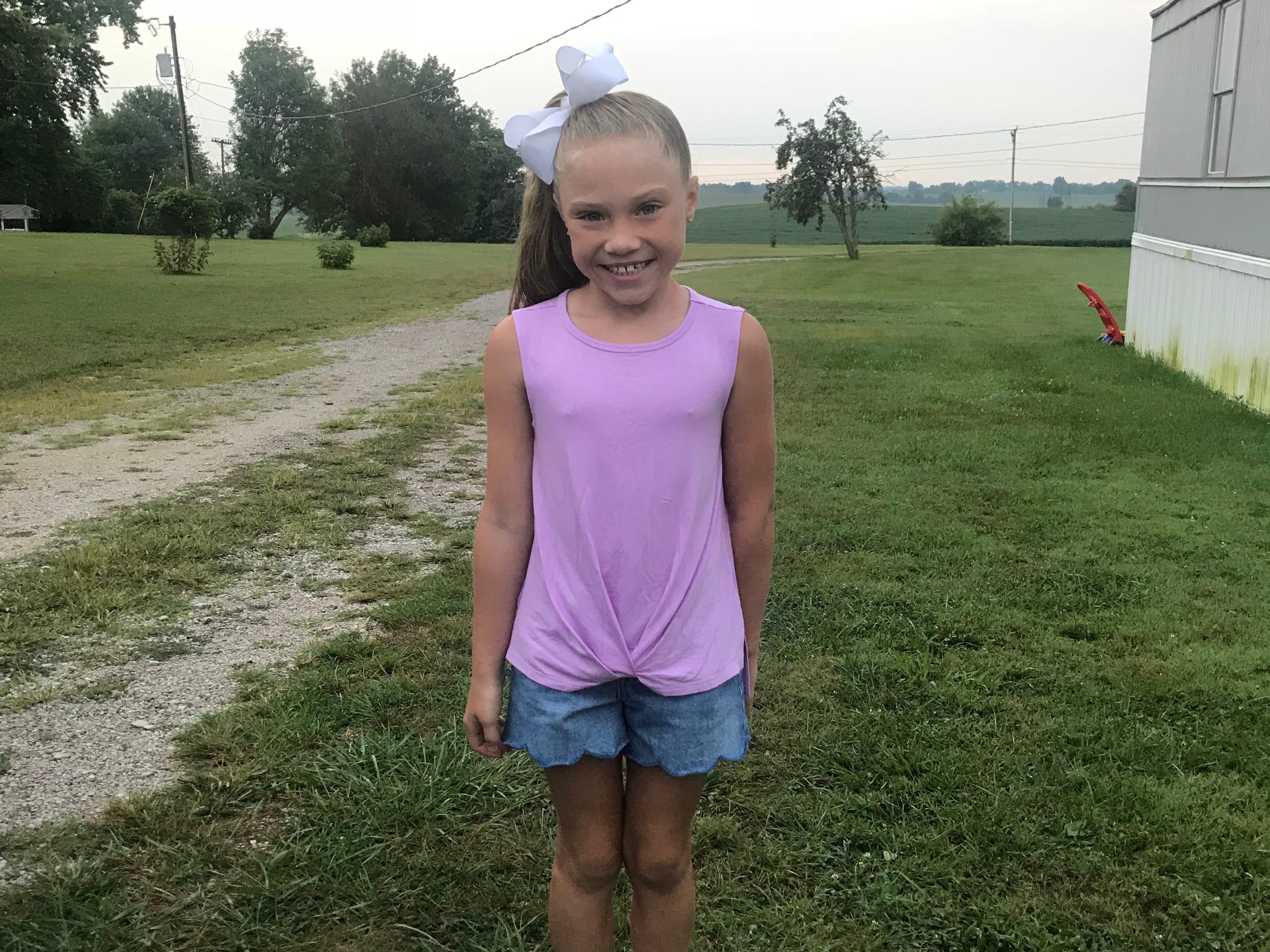 Brileigh Watson 2nd Grade & Logan Watson 8th Grade