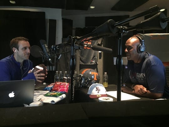 Brandon Gaudin (left) and Charles Davis are the voices of Madden 20.