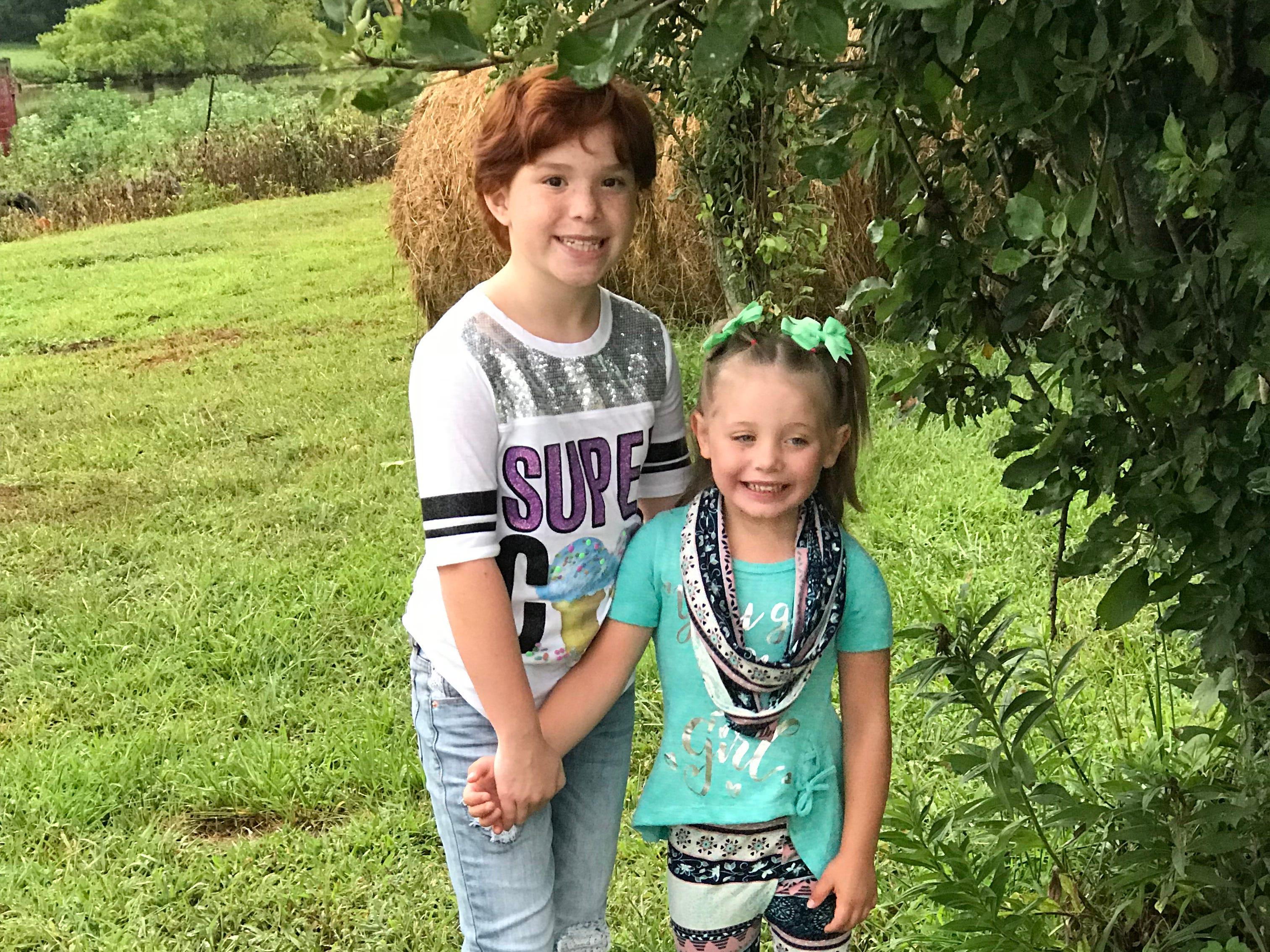 Abbie kindergarten; Aiden kindergarten; Adrianna 4th grade; Andrew 3rd grade