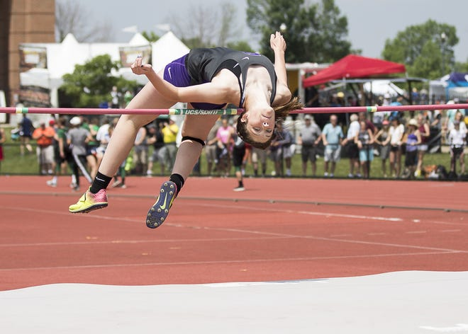 Fremont Ross' Olivia DeRodes qualified for state in the high jump as a sophmore and junior.