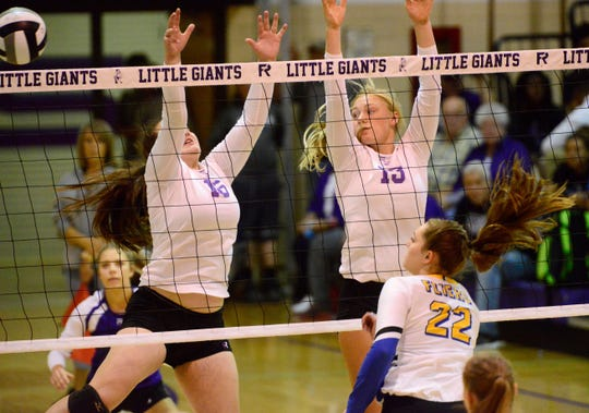 Fremont Ross senior Olivia DeRodes earned a letter for volleyball each of her first three years.