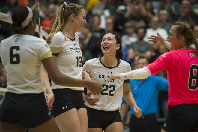 The CSU volleyball team is ranked No. 25 in the AVCA preseason coaches poll.