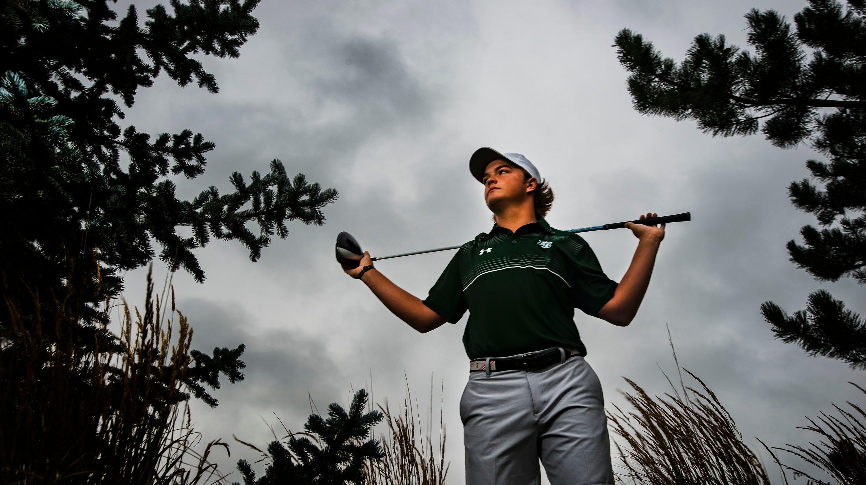 Fossil Ridge golfer Dillon Stewart has small stature, big golf game