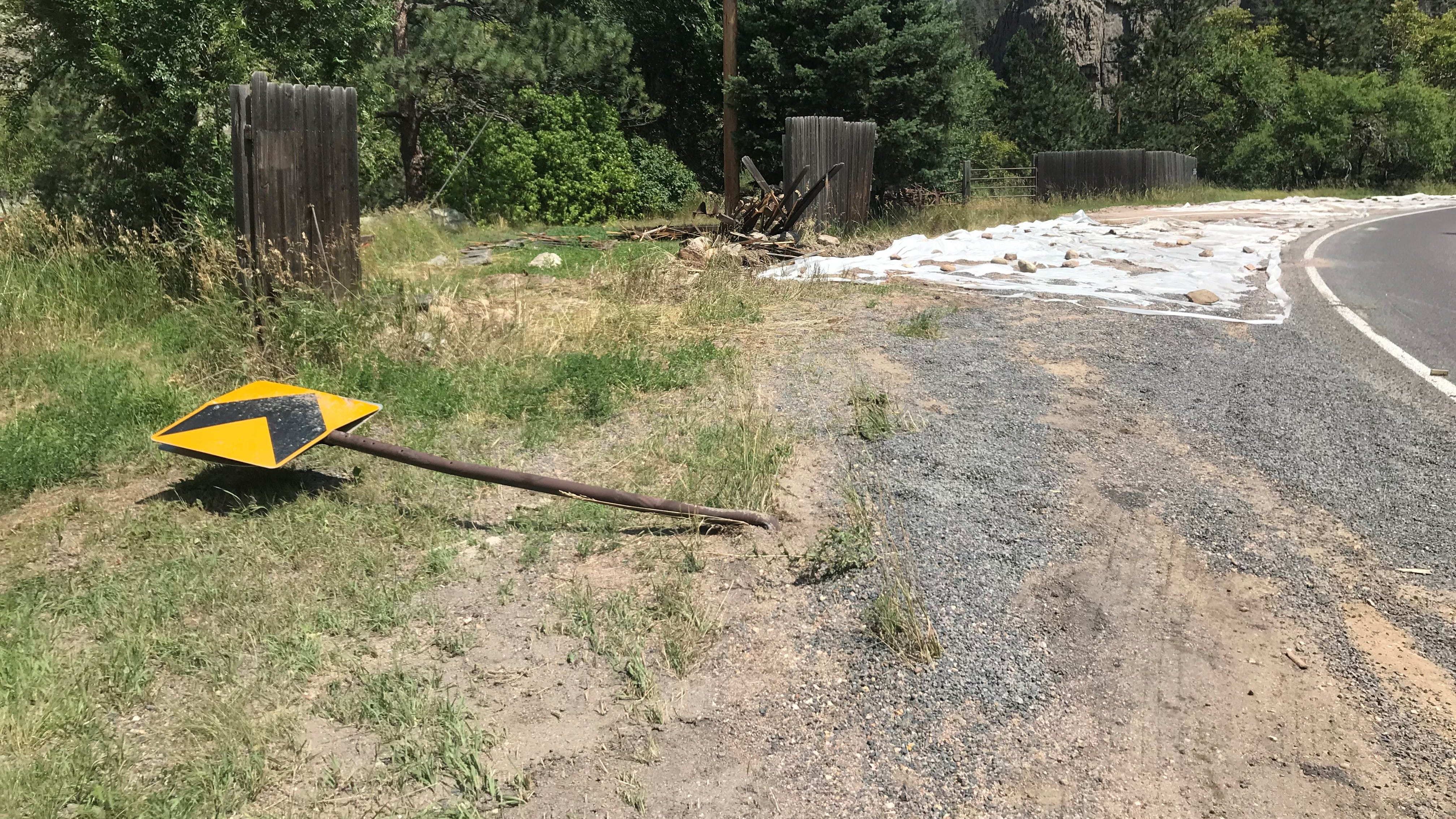 Report: Truck spilled hundreds of gallons of fracking flowback fluid in Poudre Canyon