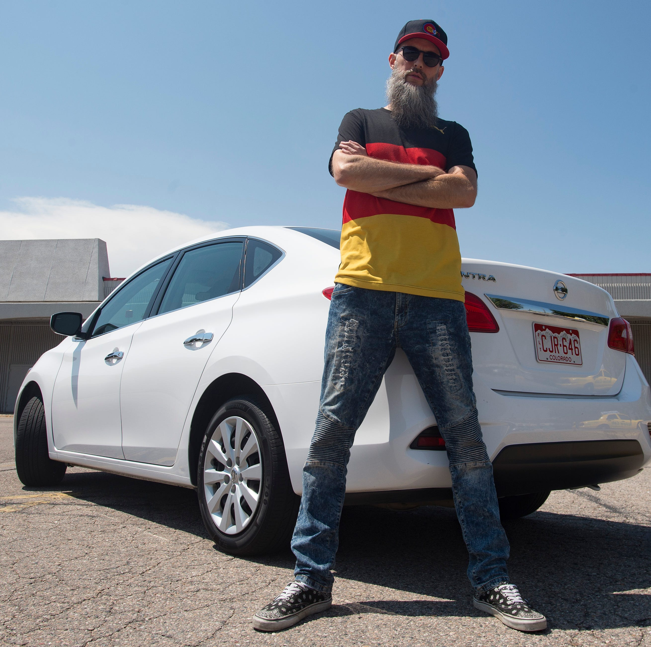 This Fort Collins Lyft driver came from Germany for rap career. Check out our ride with him.