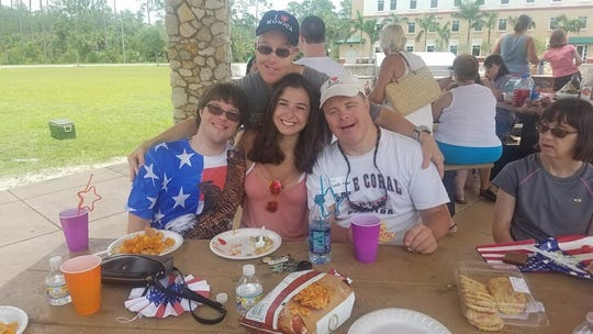 Jenna Maringione has been involved with Best Buddies for four years and is FGCU's chapter president.