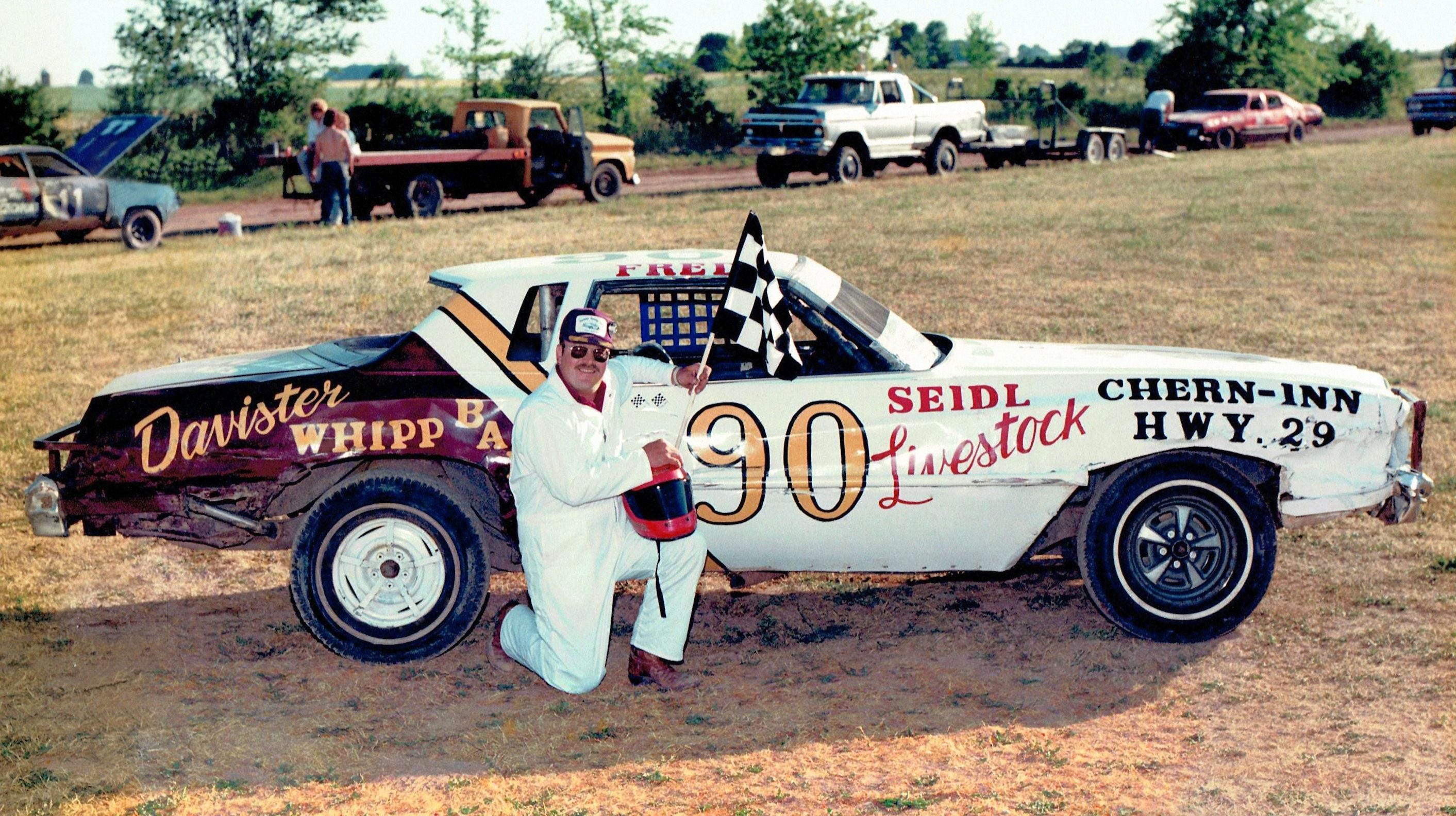 Racing Freddie Davister To Enter Luxemburg Speedway Hall Of Fame Running fred by dedalord s.r.l. luxemburg speedway hall of fame