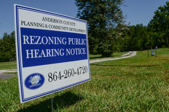 A home at 1226 Massey Road in Pendleton is subjects to zoning review by Anderson County.